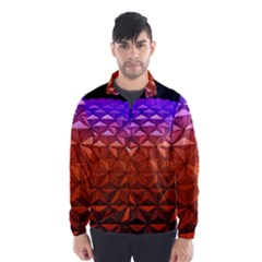 Abstract Ball Colorful Colors Wind Breaker (men)