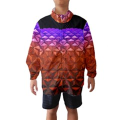 Abstract Ball Colorful Colors Wind Breaker (kids)
