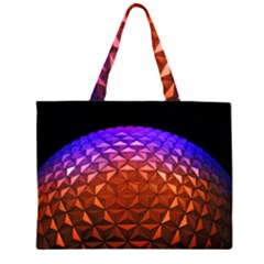 Abstract Ball Colorful Colors Large Tote Bag
