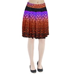 Abstract Ball Colorful Colors Pleated Skirt
