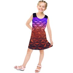 Abstract Ball Colorful Colors Kids  Tunic Dress