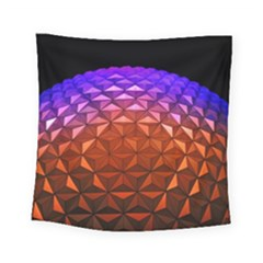 Abstract Ball Colorful Colors Square Tapestry (small)