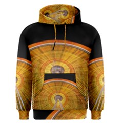 Abstract Blur Bright Circular Men s Pullover Hoodie