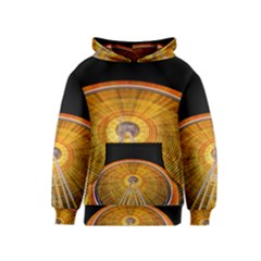 Abstract Blur Bright Circular Kids  Pullover Hoodie