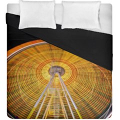Abstract Blur Bright Circular Duvet Cover Double Side (king Size)