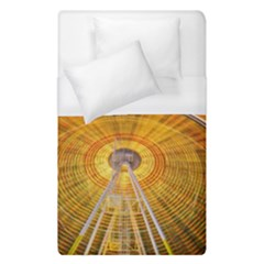 Abstract Blur Bright Circular Duvet Cover (single Size)