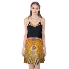 Abstract Blur Bright Circular Camis Nightgown