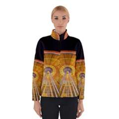 Abstract Blur Bright Circular Winterwear