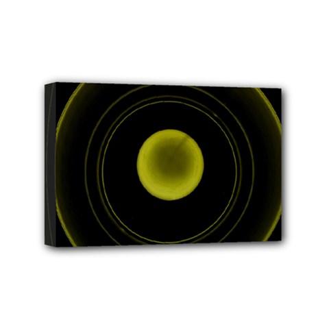 Abstract Futuristic Lights Dream Mini Canvas 6  X 4