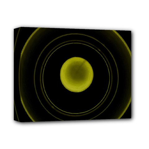 Abstract Futuristic Lights Dream Deluxe Canvas 14  X 11