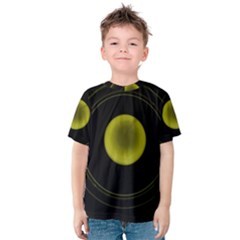 Abstract Futuristic Lights Dream Kids  Cotton Tee