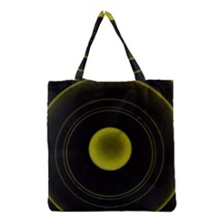 Abstract Futuristic Lights Dream Grocery Tote Bag