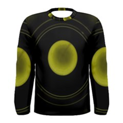 Abstract Futuristic Lights Dream Men s Long Sleeve Tee
