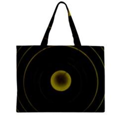 Abstract Futuristic Lights Dream Zipper Mini Tote Bag