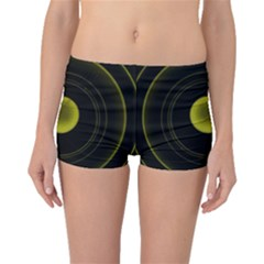 Abstract Futuristic Lights Dream Boyleg Bikini Bottoms