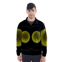 Abstract Futuristic Lights Dream Wind Breaker (men)