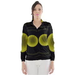 Abstract Futuristic Lights Dream Wind Breaker (women)
