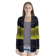 Abstract Futuristic Lights Dream Cardigans