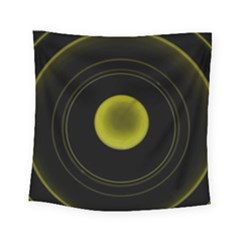Abstract Futuristic Lights Dream Square Tapestry (small)