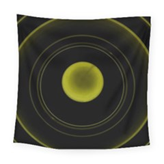 Abstract Futuristic Lights Dream Square Tapestry (large)
