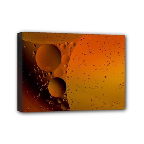 Abstraction Color Closeup The Rays Mini Canvas 7  X 5