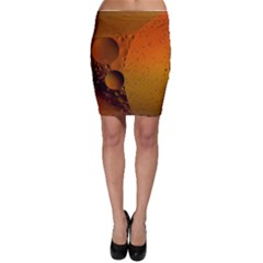 Abstraction Color Closeup The Rays Bodycon Skirt
