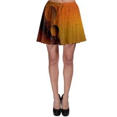 Abstraction Color Closeup The Rays Skater Skirt