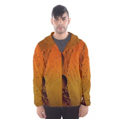 Abstraction Color Closeup The Rays Hooded Wind Breaker (men)