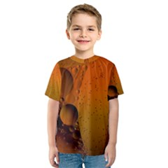 Abstraction Color Closeup The Rays Kids  Sport Mesh Tee