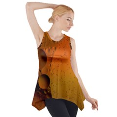 Abstraction Color Closeup The Rays Side Drop Tank Tunic