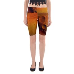 Abstraction Color Closeup The Rays Yoga Cropped Leggings
