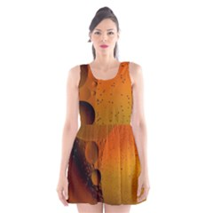 Abstraction Color Closeup The Rays Scoop Neck Skater Dress