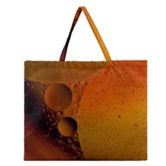 Abstraction Color Closeup The Rays Zipper Large Tote Bag