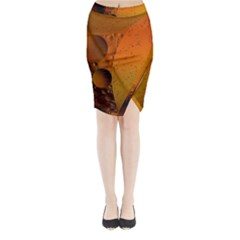 Abstraction Color Closeup The Rays Midi Wrap Pencil Skirt