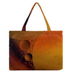 Abstraction Color Closeup The Rays Medium Zipper Tote Bag