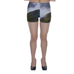 Agriculture Clouds Cropland Skinny Shorts