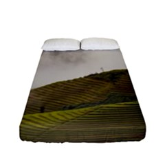 Agriculture Clouds Cropland Fitted Sheet (full/ Double Size)
