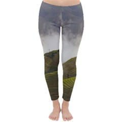 Agriculture Clouds Cropland Classic Winter Leggings