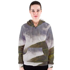 Agriculture Clouds Cropland Women s Zipper Hoodie