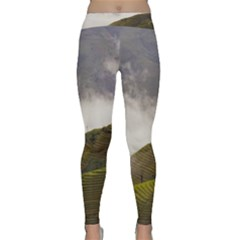 Agriculture Clouds Cropland Classic Yoga Leggings