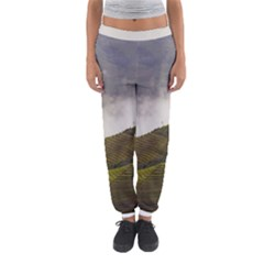 Agriculture Clouds Cropland Women s Jogger Sweatpants