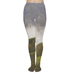 Agriculture Clouds Cropland Women s Tights