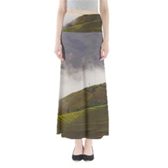 Agriculture Clouds Cropland Maxi Skirts