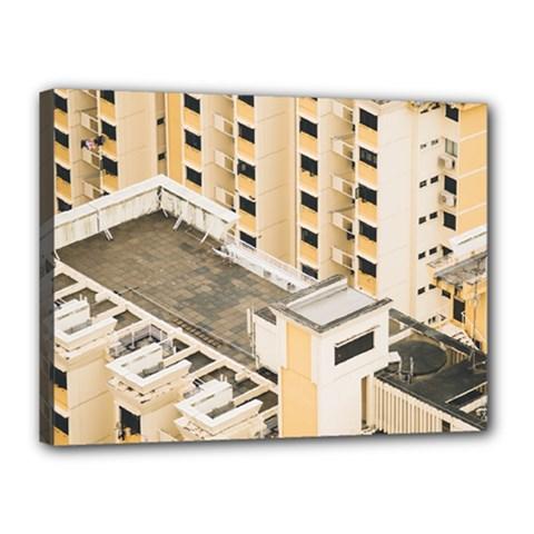 Apartments Architecture Building Canvas 16  X 12