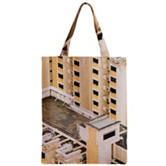Apartments Architecture Building Classic Tote Bag