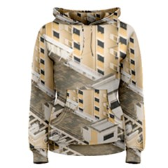 Apartments Architecture Building Women s Pullover Hoodie