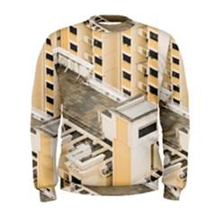 Apartments Architecture Building Men s Sweatshirt