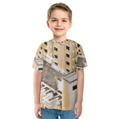 Apartments Architecture Building Kids  Sport Mesh Tee