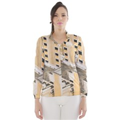 Apartments Architecture Building Wind Breaker (Women)