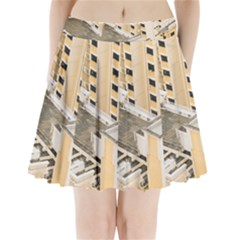 Apartments Architecture Building Pleated Mini Skirt